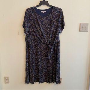 Plus size loft dress